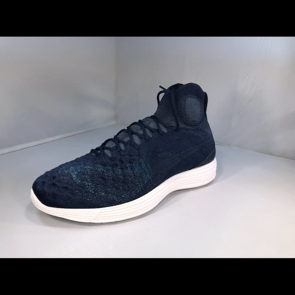 newest 268d9 5e5f2 NIKE LUNAR MAGISTA II FLYKNIT FC COLLEGE NAVY BLUE